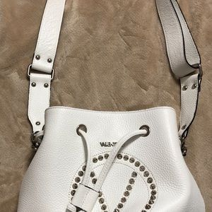 Valentino leather bucket purse